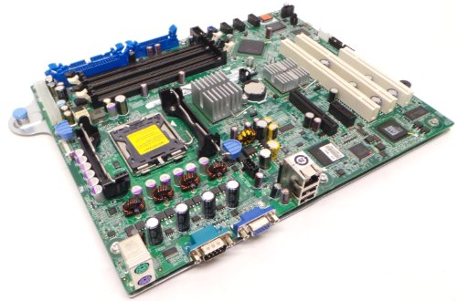 Genuine Dell XM091 RH822 Motherboard Mainboard System Board For the PowerEdge 840 Generation II System, Chipset Intel 3000, Supported CPUs: Dual-Core Intel Xeon processor 3000 Sequence, Intel Celeron Pentium, LGA775 Socket CPU and Memory NOT Included Compatible Part Numbers: XM091, RH822, 0XM091, 0RH822 (Chip 4 Pentium Sets)
