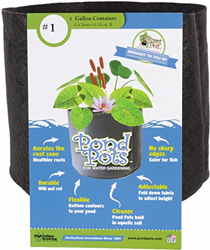 Smart Pots Pond Flexible Aquatic Plant Container for Water Gardening, 1 ()