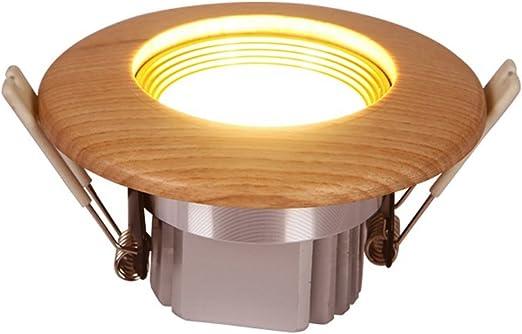 KMYX 3W Madera proyector Moderno Minimalista luz de Techo Decorado ...