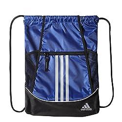 Adidas Alliance Ii Sackpack, 18 X 13 34-inch, Bold Blue