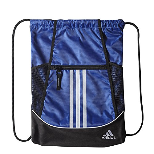 Soccer Bag (adidas Alliance II Sackpack, 18 x 13 3/4-Inch, Bold Blue)