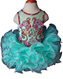 Jenniferwu Infant toddler baby newborn little Girl's Pageant party birthday Dress 3months to size7 EB205-4