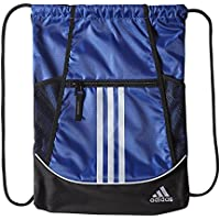 adidas Alliance II Sackpack, 18 x 13 3/4-Inch, Bold Blue