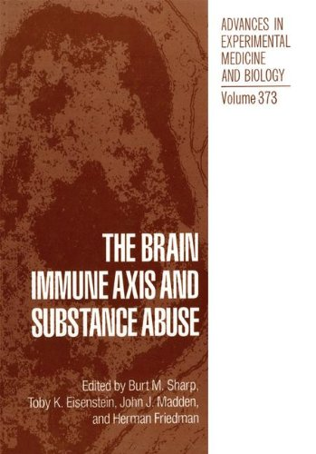 The Brain Immune Axis and Substance Abuse (Advances in Experimental Medicine & Biology)