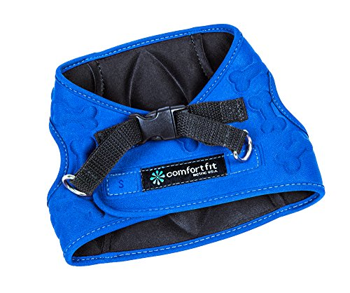 Easy Harness Vest (Easy to Put on and Take off Small Dog Harnesses Our small Dog Harness Vest has padded Interior and Exterior Cushioning Ensuring your Dog is Snug and Comfortable !)