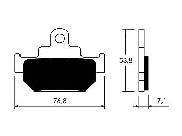 V PARTS - P10788/54 : Pastillas de freno delanteras: Amazon.es: Coche y moto