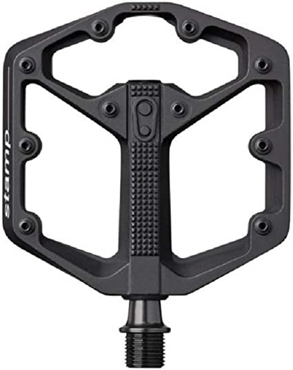 Crankbrothers Stamp 3 Large Lightweight Bike Pedals Black with Multi Tool Kit