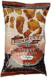 Trader Joe's Ridge Cut Sweet Potato Chips 7 OZ