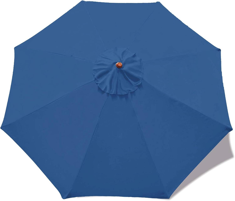 MASTERCANOPY Patio Umbrella Replacement Canopy Market Table Umbrella Canopy