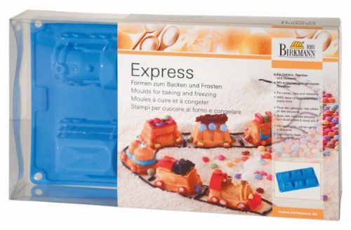 RBV Birkmann Express Train Silicone Mold Tray for Baking and Freezing - Vertex Mold