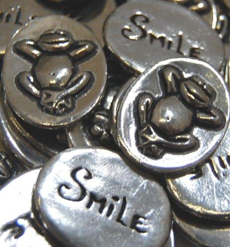 Set of 25 Frog Smile Inspiration Coins