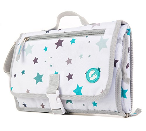 Portable Diaper Changing Pad with Pockets