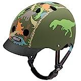 Nutcase - Little Nutty Street Bike Helmet, Fits Your Head, Suits Your Soul - Matte Dino-Mite