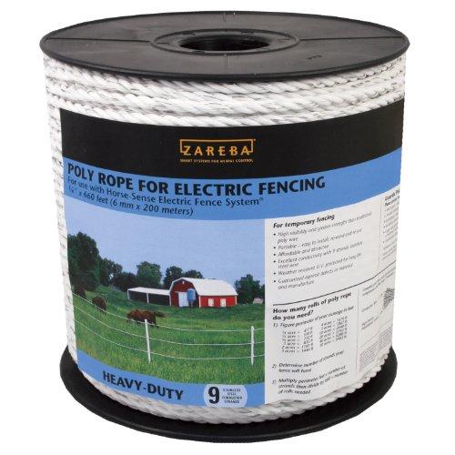 Zareba RSR660 1/4-Inch Poly Rope - Zareba Wire Fencing