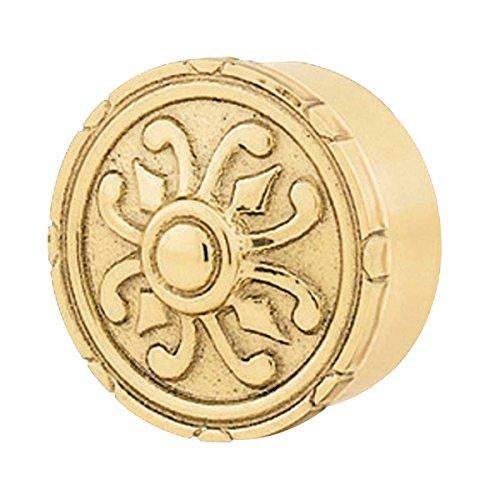 Engraved Victorian Brass 1 1/2