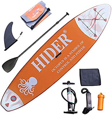 YWJ Tabla Hinchable Paddle Surf- Deluxe Incluye Paleta de ...