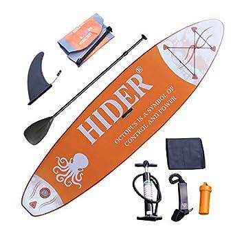 YWJ Tabla Hinchable Paddle Surf- Deluxe Incluye Paleta de ...