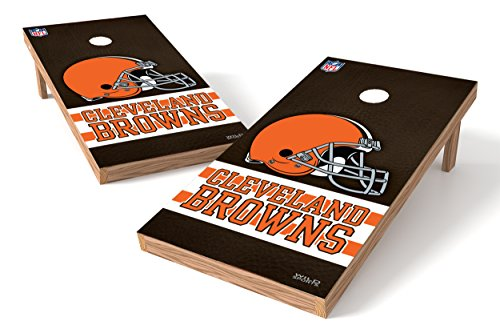Wild Sports NFL Cleveland Browns 2' x 4' Authentic Cornhole Game ()