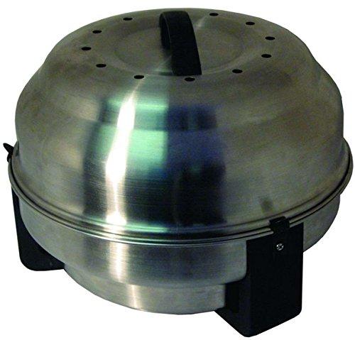 Olpro Safire Barbecue Portable à charbon et plat à rôtir-Argent - 26,5 cm B00YC5G846