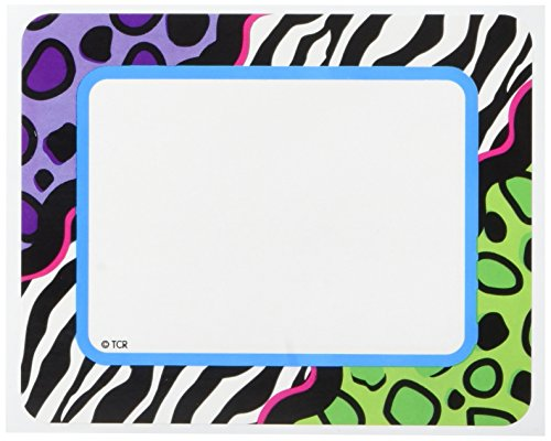 Teacher Created Resources Colorful Leopard Labels