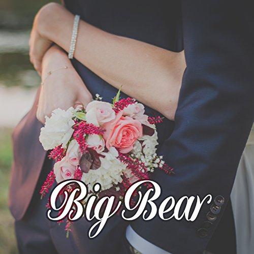 (Big Bear - Flower for Beloved, Ideal Dating, Romance Time, Snowflakes on Miracle Face, Heat despite Winters, Christmas Gift)