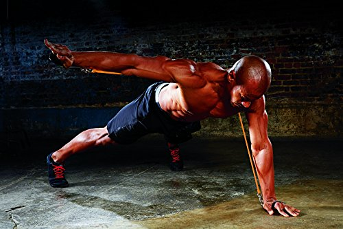 P90X Resistance Push Up with 2 Sets of Power Tubes And 3 Resistance Levels To Increase Intensity And Strengthen Shoulders, Triceps, And Core
