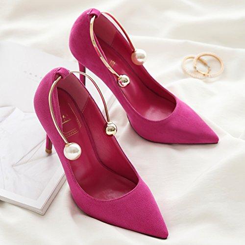 i alti con tacchi la scarpe e versatile rilevato luce Tracolla incrociata 4qwAUIA