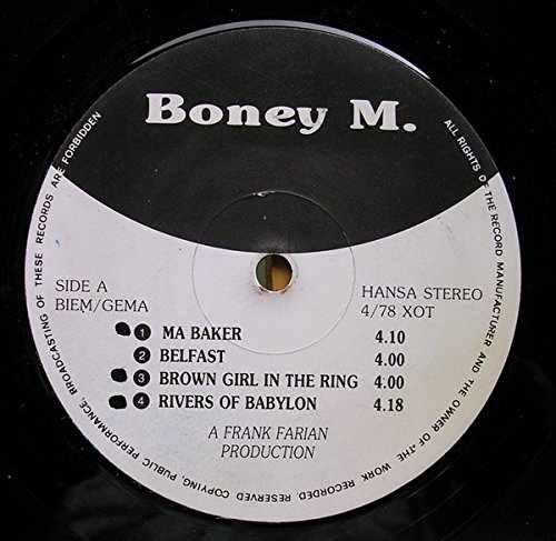 Boney M. - Sunny - Boney M 7