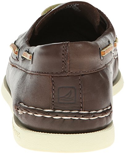 Leather Sperry Cuero Eye 0195214 Mocasines Hombre Marrón A de O 2 para 8RInT