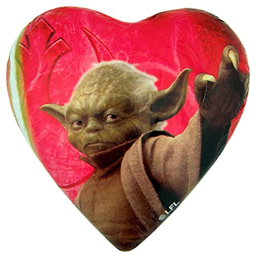 Disney's Star Wars Jedi Yoda Hollow Milk Chocolate Heart, 2.47 oz