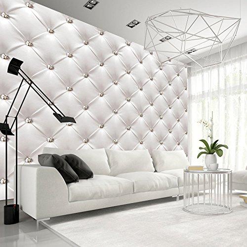 Vlies Fototapete 400x280 cm ! Top - Tapete - Wandbilder XXL - Wandbild - Bild - Fototapeten - Tapeten - Wandtapete - Wand - Leder weiß modern f-B-0039-a-a