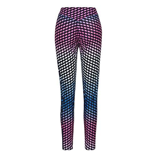 Damen-Mode Skinny Hose Lässig Hochbund Hose Wild Printing Gamaschen Trousers