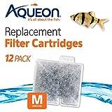Aqueon QuietFlow Filter Cartridge, Medium, 12 Pack