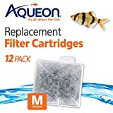 Aqueon 6418 Filter Cartridge, Medium, 12-Pack