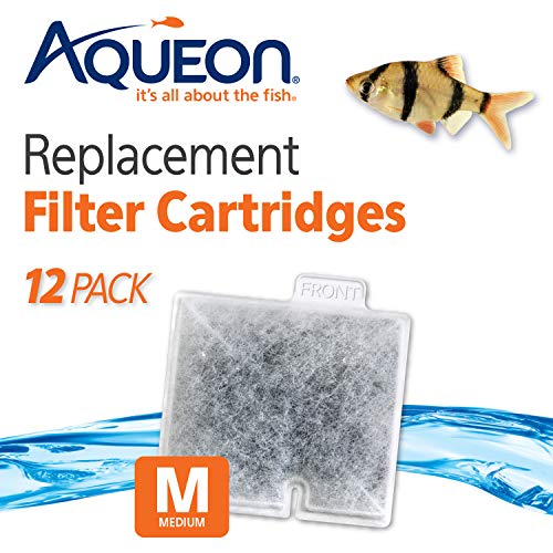 Aqueon QuietFlow Filter Cartridge, Medium, 12-Pack