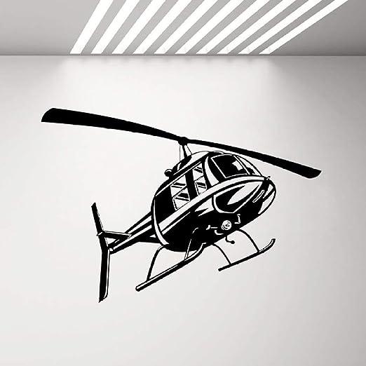 Zhuhuimin Helicóptero Fuerza Aérea Tatuajes de Pared Decoración ...