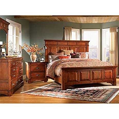 Perfect A America Kalispell 4 Piece King Bedroom Set In Mahogany