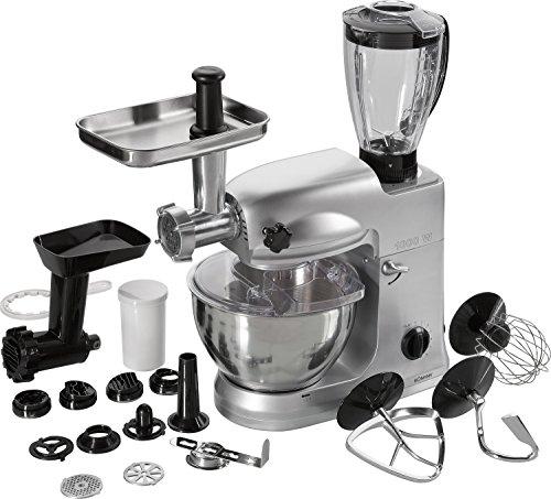 Bomann-KM-367-CB-Negro-Acero-inoxidable-230-V-50-Hz-Robot-de-cocina