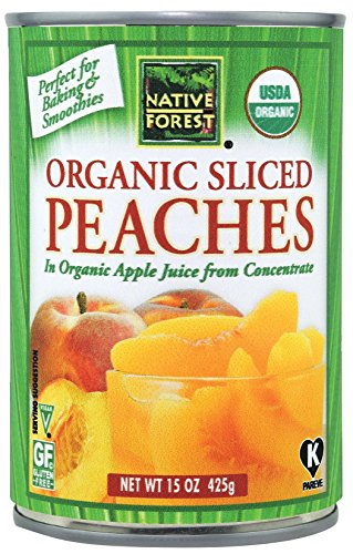 (Native Forest Organic Sliced Peaches, 15 Ounce Cans (Pack of 6) )
