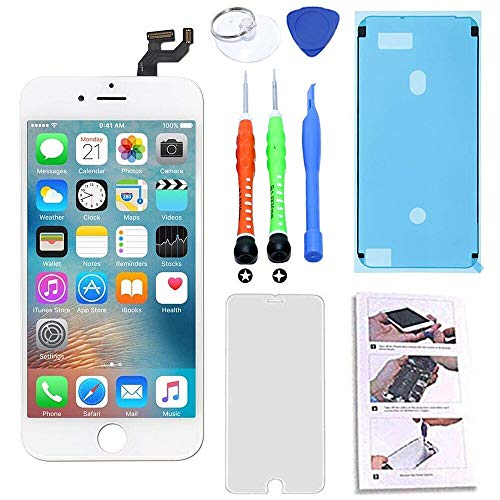 for iPhone 6S LCD Screen Replacement 4.7 inch White
