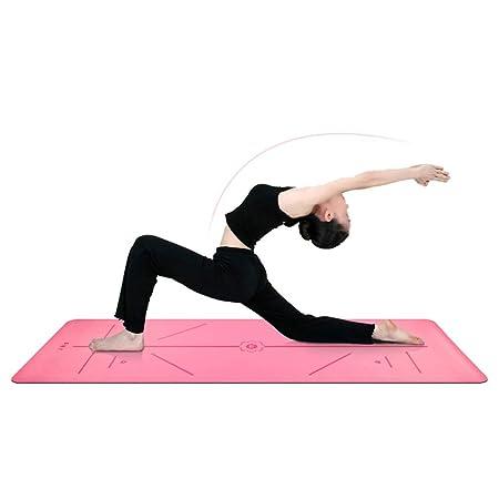 MIYA Estera De Goma Natural De La Yoga, Estera Avanzada De ...
