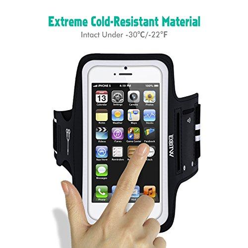 [해외]아이폰 6 6S 플러스 실행 완장 EOTW 스포츠 핸드폰 암 밴드 운동 완장 케이스 홀더 아이폰 6 6S 플러스, 아이폰 5 5C 5S SE 4 4S 아이팟 Armban/iPhone 6 6S Plus Running A