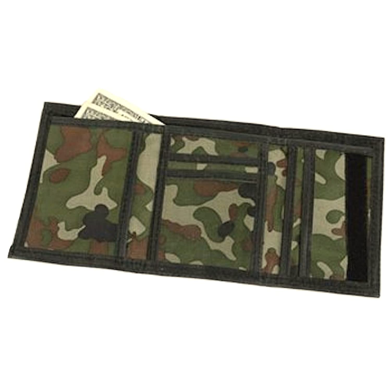 Amazon.com: Army Camouflage Wallet Nylon Velcro Trifold Kids ...
