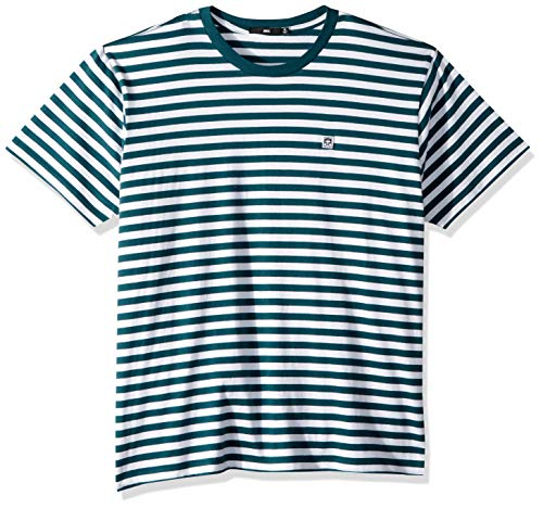 (Obey Men's Eighty Nine ICON Box Short Sleeve Tshirt, Pine Multi, Medium)