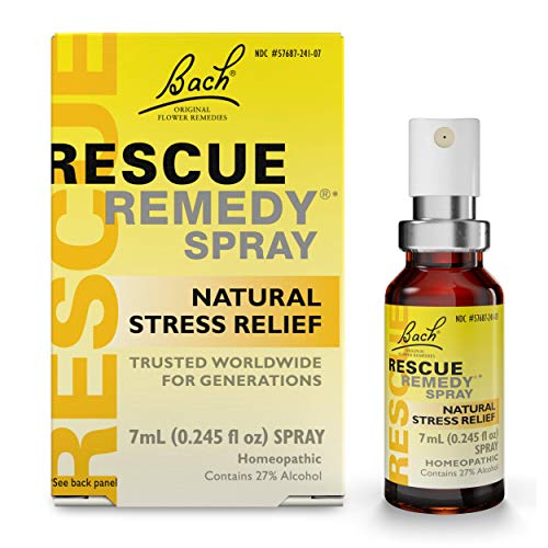 Clematis Dropper (Bach Rescue Remedy Spray, Natural Stress Relief, 7 ml)