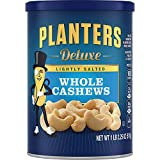 Planters Deluxe Whole Cashews Lightly Salted, 2 Tubs (1 lb 2.25 oz)