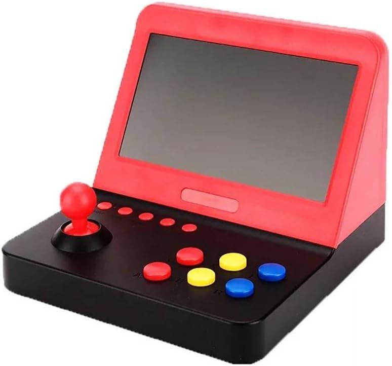 Ritapreaty Consola de Juegos Consola de Juegos HD Arcade Palm de 64 bits Máquinas recreativas con Pantalla Grande 7 Pulgadas (7,48 x 7,20 x 5,59 Pulgadas)