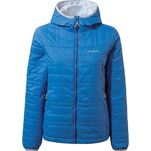 Craghoppers Nat Geo Compresslite Jacket II, Night Blue, US6/Uk10 (Insulated Jacket Superlight)