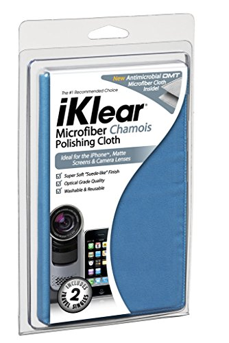 iKlear (iK-MCK) Microfiber Chamois Style Polishing Cloth (Polishing Anti Static Cloth)