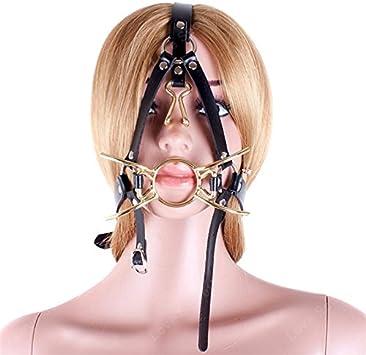 Anillo de araña de metal con arnés de cabeza esclava, gancho para ...